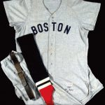 Red Sox Ted Williams uniform 1955