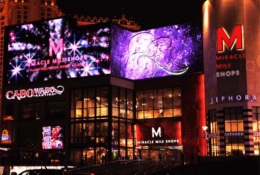 Las Vegas strip shops