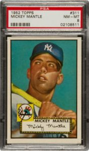 1952 Topps Mickey Mantle