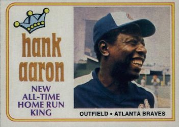 1974 Topps Hank Aaron