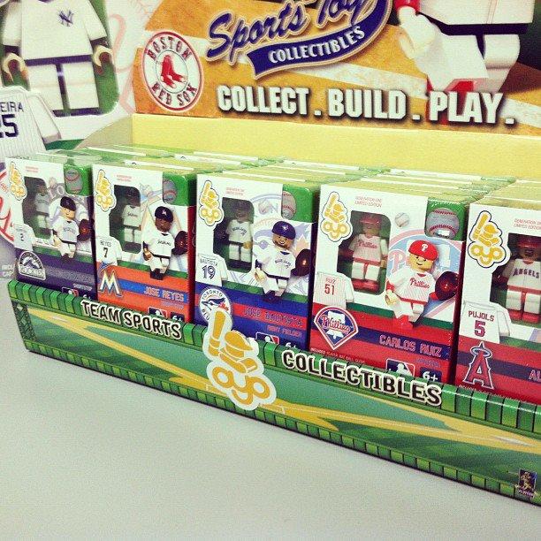 Baseball figures OYO toys