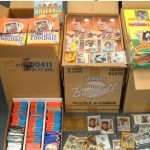 1980s sports card boxes