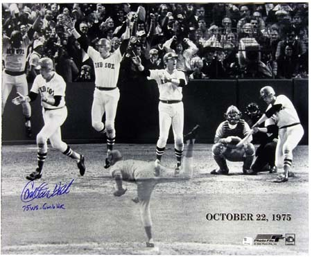 Carlton Fisk World Series homer
