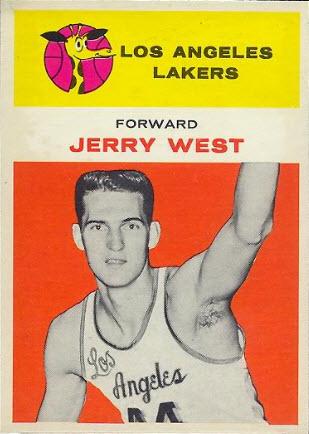 1961-62 Fleer Jerry West