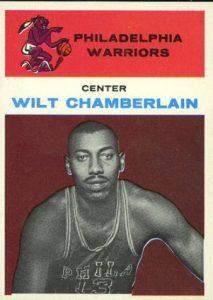 1961-62 Fleer Wilt Chamberlain