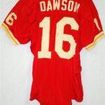 Game worn Len Dawson jersey