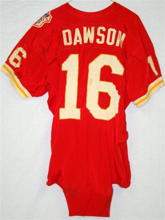 Len Dawson Super Bowl IV Jersey Among Items in Auction