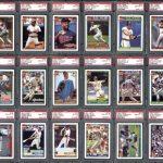 Graded set 1991 Topps Desert Shield baseball cards