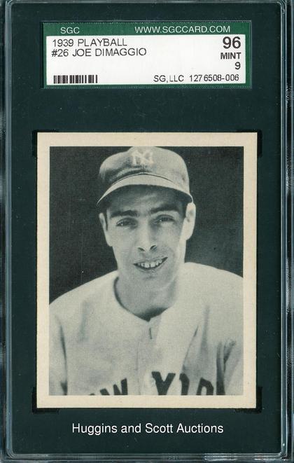 Joe DiMaggio 1939 Play Ball