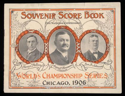 World Series program 1906