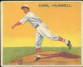 1933 Goudey Carl Hubbell