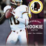 Robert Griffin III football card