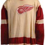 Red Wings Gordie Howe game jersey