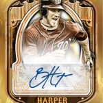 Bryce Harper Topps autograph Gold Rush