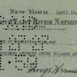 1927 Babe Ruth signed check