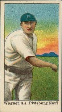 Honus Wagner Dockmans card