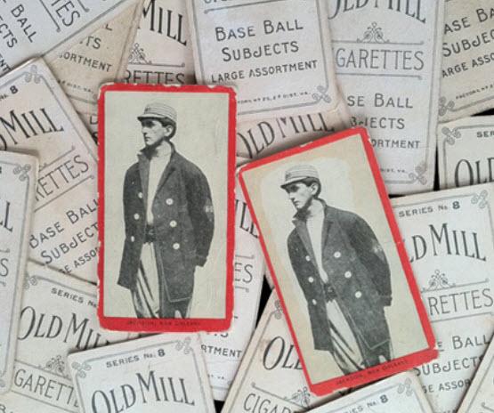 Joe Jackson T210 Old Mill cards