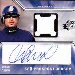 Ichiro autographed rookie card