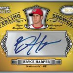 2012 Bowman Sterling Showcase Bryce Harper autograph