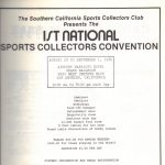 First National Sports Collectors Convention ad