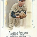 Sandy Koufax 2012 Allen Ginter rip card