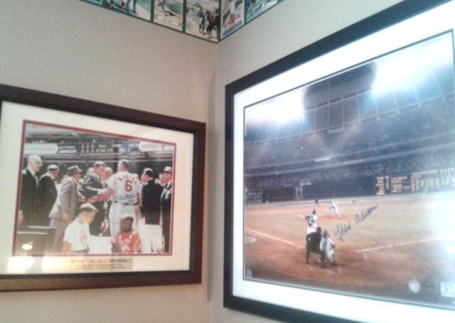 display sports memorabilia