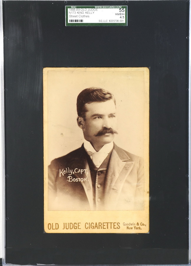 Old Judge cabinet King Kelly