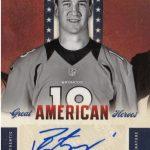 2012 Rookies-Stars Peyton Manning autograph