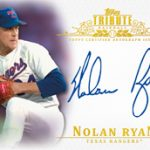 Autographed Nolan Ryan 2013 Topps Tribute