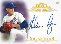 Autographed Nolan Ryan 2013 Topps Tribute