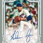 Nolan Ryan autographed 2013 Topps Gypsy Queen