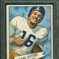 Frank Gifford 1952 Bowman Large