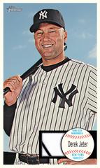 1964 Giants style Derek Jeter