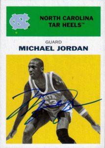 Michael Jordan auto Fleer Retro