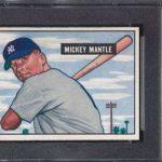Mickey Mantle 1951 Bowman