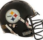 Steelers helmet James Harrison Super Bowl XLII