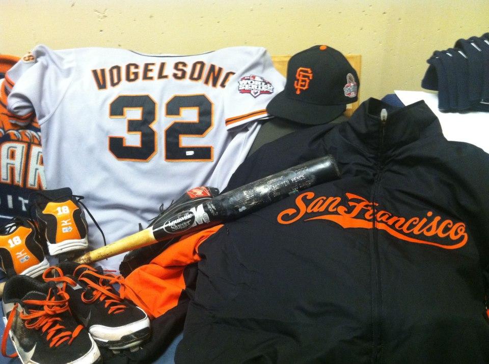 San Francisco Giants World Series memorabilia
