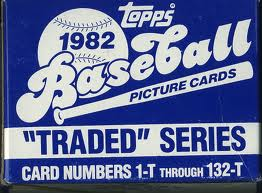 1982 Topps Traded set