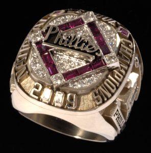 Harry Kalas World Series ring 2009