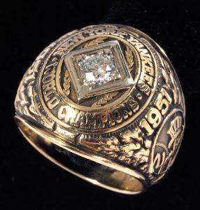 1951 World Series ring Joe DiMaggio