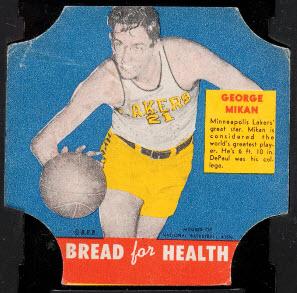 George Mikan Bread for Health