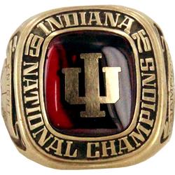 Bobby Knight 1976 NCAA Championship ring