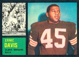 1962 Topps Ernie Davis