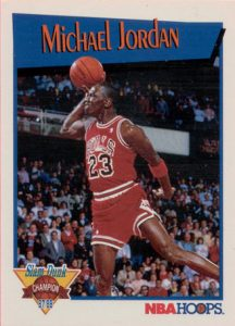 Michael Jordan Hoops Slam Dunk
