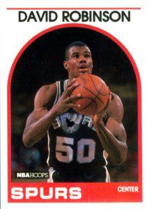 David Robinson 89-90 Hoops 2nd series
