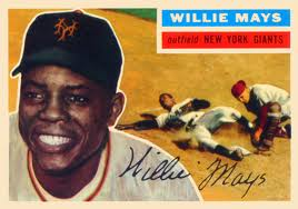 Willie Mays 1956 Topps