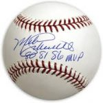 Signed Mike Schmidt ball