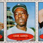 1971 Bazooka Hank Aaron panel