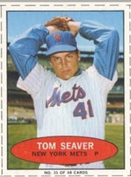 numbered 1971 Bazooka Tom Seaver