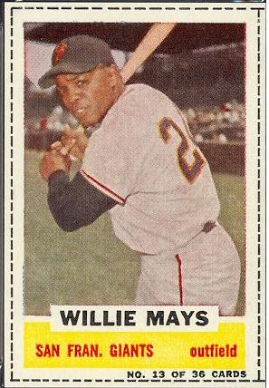 Willie Mays Bazooka 1960